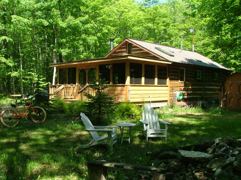 Door County Cabin in the Woods